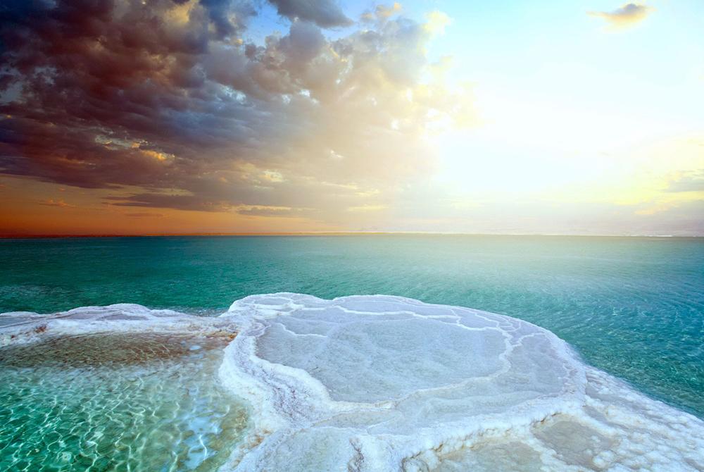 Kelionė į Izraelį (egzotinės kelionės) salt lakes