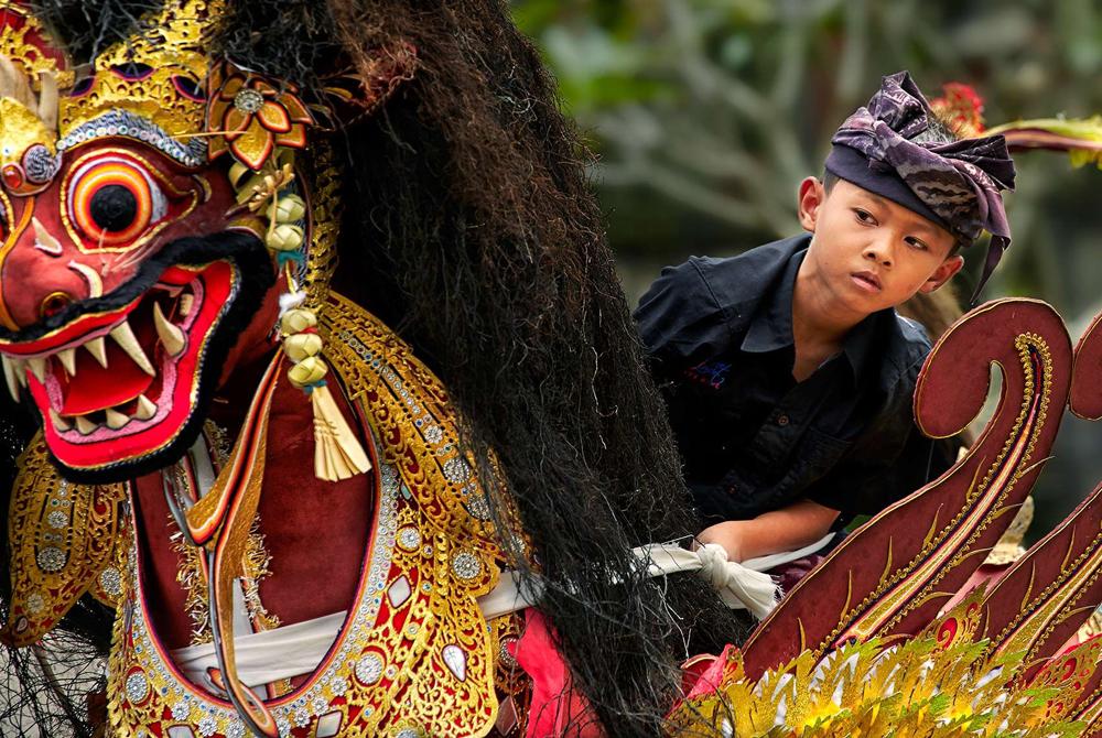 Kelionė į Indoneziją (egzotinės kelionės) Bali cremation parade