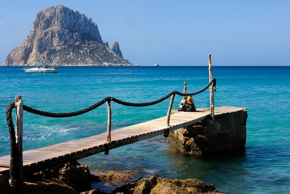 Kelionė į Ibizą (egzotinės kelionės) Holiday and vacation concept ( beaches & summer )