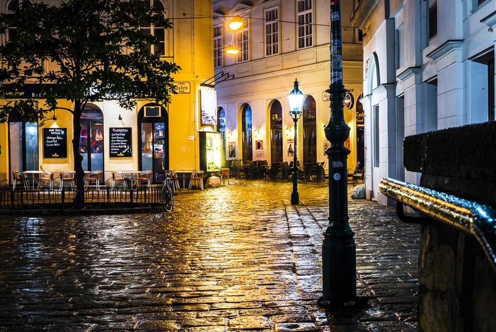 Fleischmarkt Wien bei Nacht Fotografie - Vienna by Night Photography