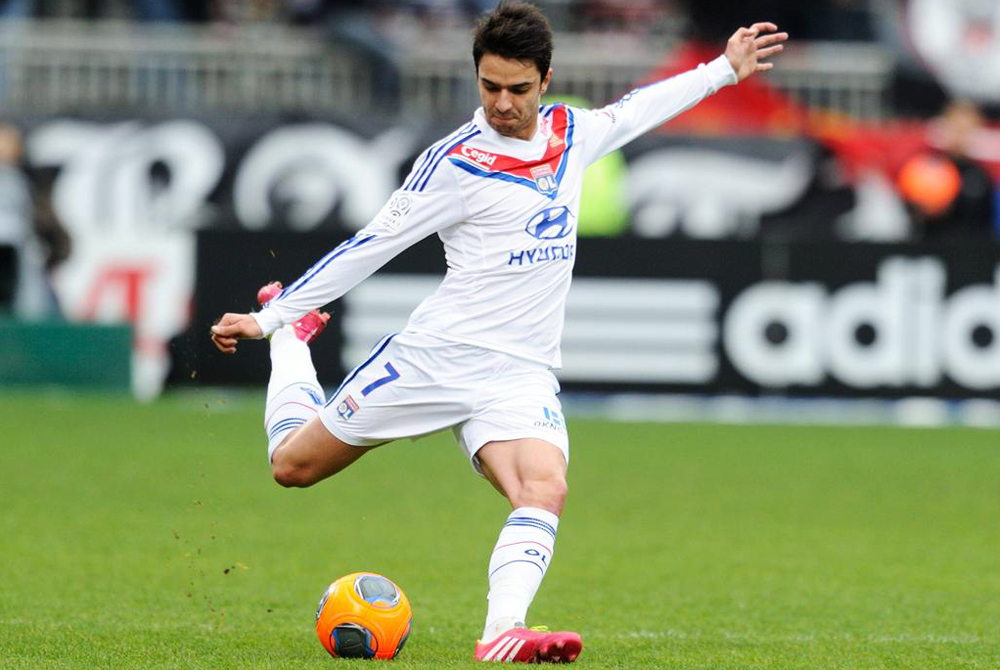 Clement Grenier lyon FOOTBALL Olympique Lyon vs Evian Thonon Gaillard Ligue 1 26 01 2014 Fre